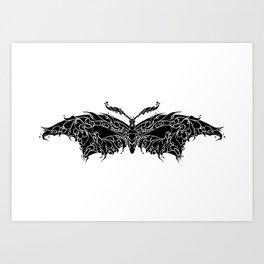 Buterfly Pattern Decor Art Print