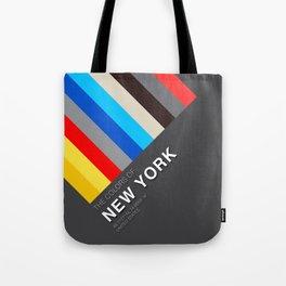 Colors of New York Tote Bag