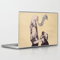 enjolras Laptop & iPad Skins featuring Of reciprocity by MENELLAOS
