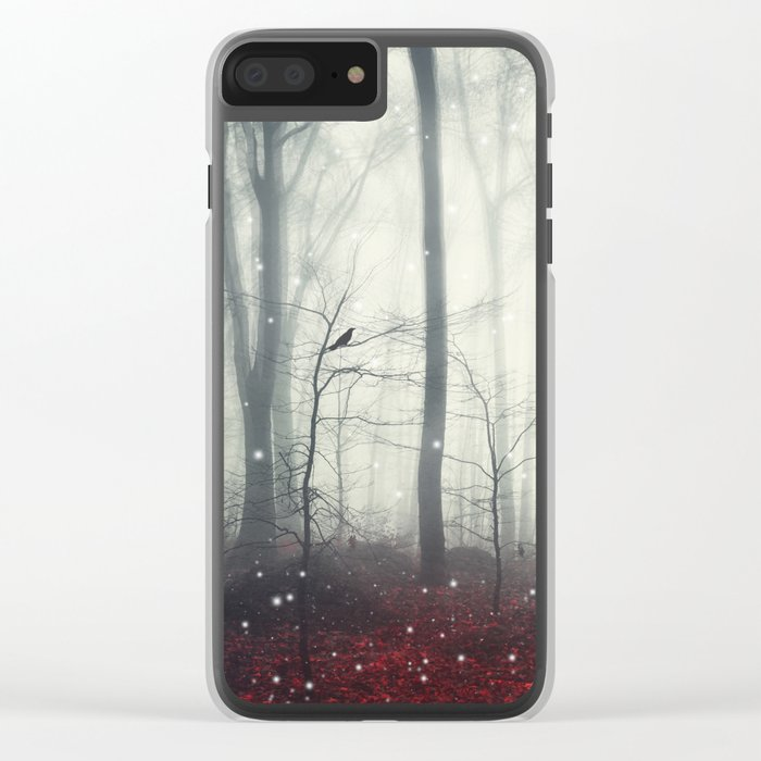 Spaces VII - Dreaming Woodland Clear iPhone Case