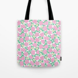 Hibiscus and Plumeria Tote Bag
