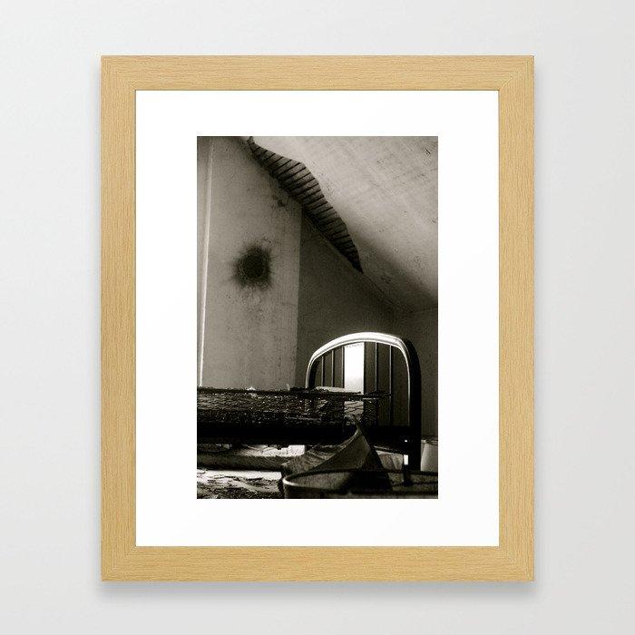 Abanoned life Framed Art Print