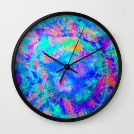 ELECTRIC SKY, design 1 in portrait Wall Clock