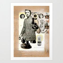 COLLAGE: Phone Art Print