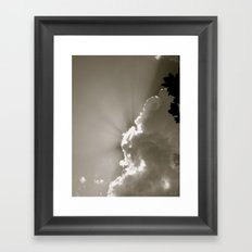 Glory in the Clouds Framed Art Print
