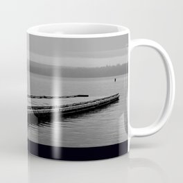 Suttle Lake in Gray and Black Coffee Mug