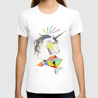unicorn T-shirts featuring Unicorn by Belén Segarra