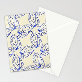 Seaweed Abstract Stationery Cards