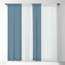 Parable to Behr Blueprint Color of the Year and Accent Colors Vertical Stripes 12 Blackout Curtain