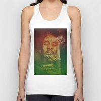 marley Tank Tops featuring Marley by Robotic Ewe