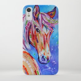 Cinnamon - Palamino Horse Art iPhone Case