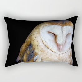 The Barn Owl Rectangular Pillow