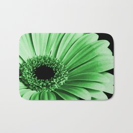 Gerbera Green Badematte