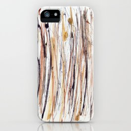 Purple and Gold Rain Forest #3 iPhone Case