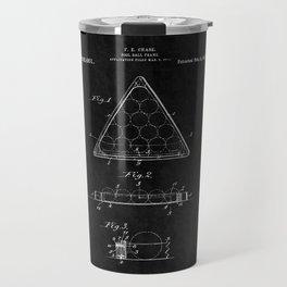 Billiard Triangle Patent 2 Travel Mug