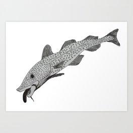 Cod Tongue Art Print