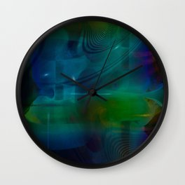 """""""Intersection 2"""" Wall Clock"""