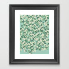 Geometric Woods Framed Art Print