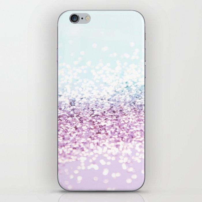 Mermaid Girls Glitter #1 #shiny #pastel #decor #art #society6 iPhone Skin