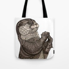 Infatuated Otter Tote Bag