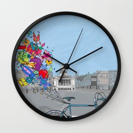 Locals Only - Nottingham Wall Clock