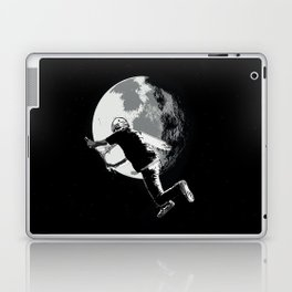 Tailing the Moon - Tail-whip Scooter Stunt Laptop & iPad Skin