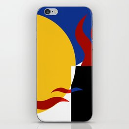 The moonlight artist Ozo iPhone Skin