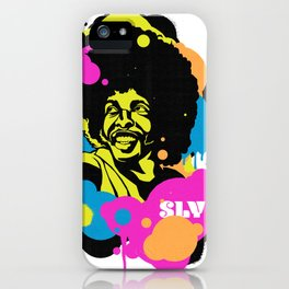 Soul Activism :: Sly Stone iPhone Case