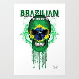 To The Core Collection: Brazil Art Print
