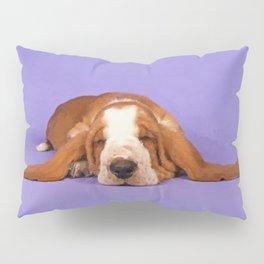 Basset Hound Puppy Pillow Sham