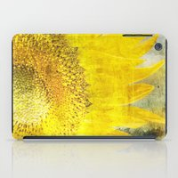 sunflower iPad Cases featuring Sunflower by Maria Heyens
