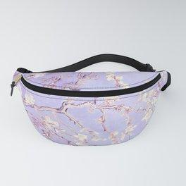 Vincent Van Gogh Almond Blossoms  Lavender Fanny Pack