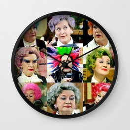 The Faces of Slocombe Wall Clock