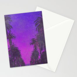 Tropical Nights Stationery Cards