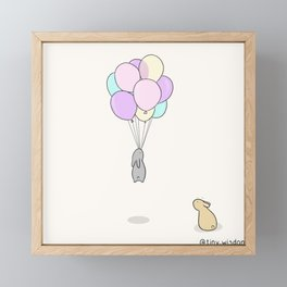 Balloons Framed Mini Art Print