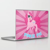 mlp Laptop & iPad Skins featuring MLP FiM: Pinkie Pie by Yiji