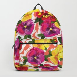 the pansy Backpack