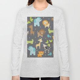 Jungle Animals Long Sleeve T-shirt
