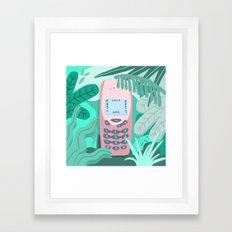 Jungle Nokia  Framed Art Print