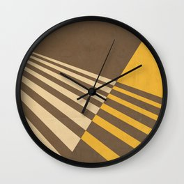 Moving Forward I Wall Clock