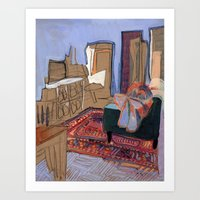 227 Mulberry St, No. 01 Art Print