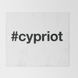 CYPRUS Throw Blanket