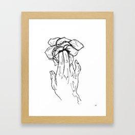 Flowering Framed Art Print