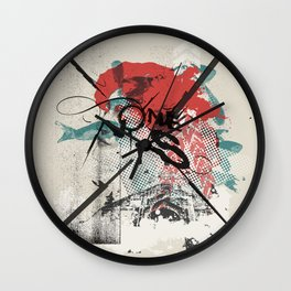 I Remember Nothing Wall Clock