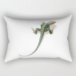 Collared Lizard Rectangular Pillow
