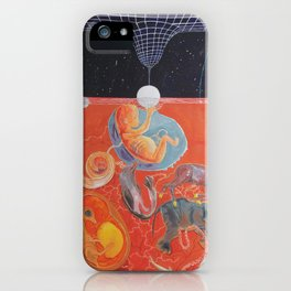 From gestation to the evolution of abstract thinking iPhone Case