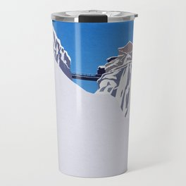 Chamonix ski Travel Mug
