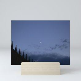 Night at Salamanca Mini Art Print