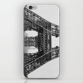 Eiffel Tower Construction iPhone Skin
