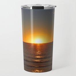 Sun Going Down Travel Mug
